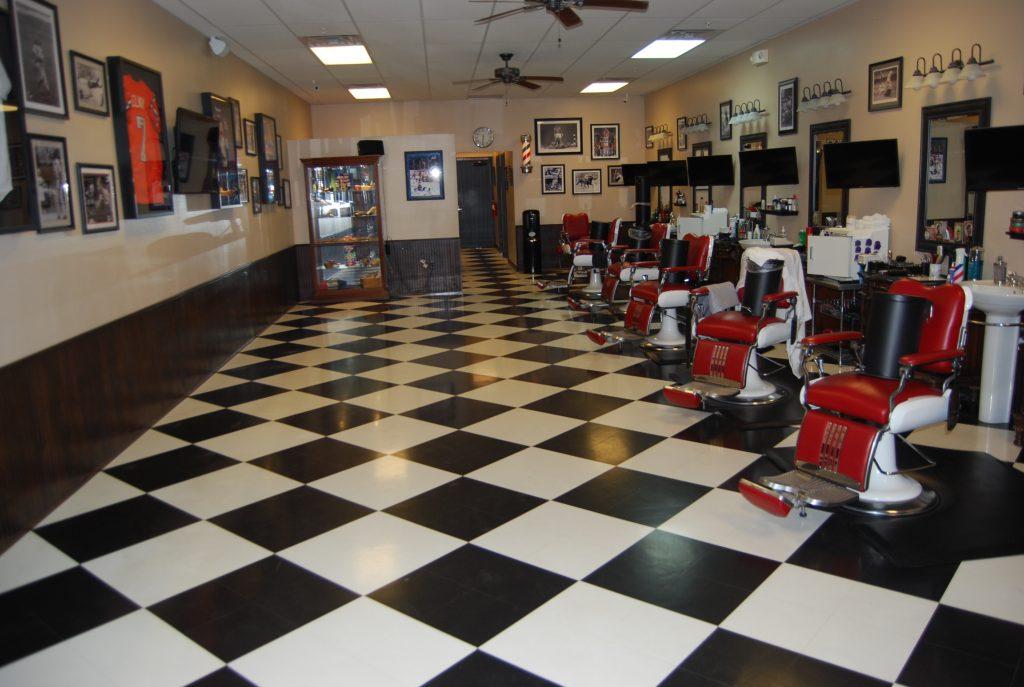 Barber Shop Vinyl - Before